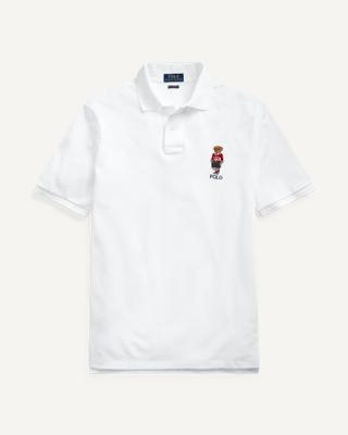 Ralph Lauren Custom Slim Fit Bear Polo
