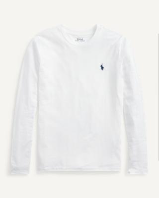 Ralph Lauren Jersey Long-Sleeve Shirt