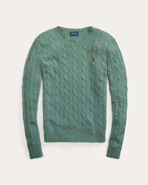 Ralph Lauren Cable Wool-Blend Sweater