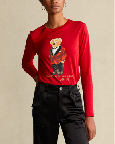 Ralph Lauren Lunar New Year Polo Bear Shirt