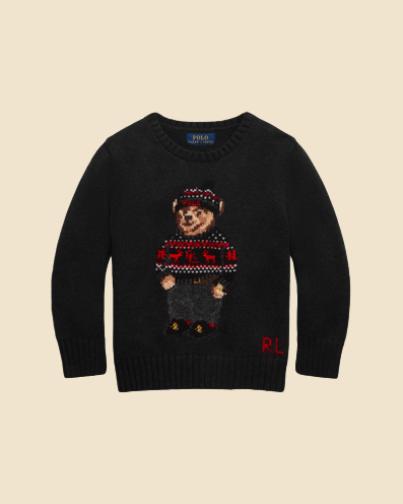Ralph Lauren Lunar New Year Polo Bear Sweater