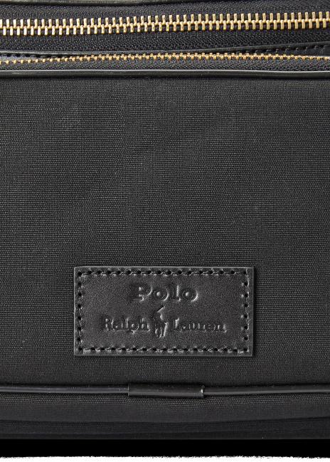 Ralph Lauren Leather-Trim Canvas Waist Pack