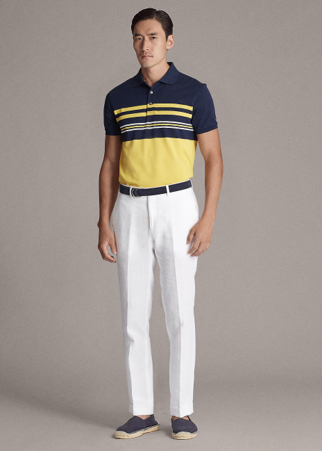 Ralph Lauren Straight Fit Washed Stretch Chino Pant
