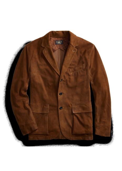 Ralph Lauren Suede Sport Coat