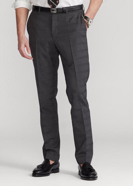 Ralph Lauren Glen Plaid Stretch Suit Trouser