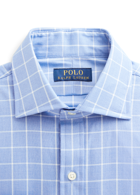 Ralph Lauren Regent Slim Fit Checked Twill Shirt