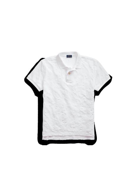 Ralph Lauren Eyelet Cotton Polo Shirt
