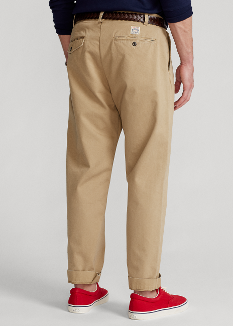 Ralph Lauren Relaxed Fit Pleated Chino Pant